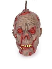 Decayed Head Hanging Halloween Party Accessories
