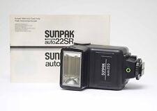 Sunpak Auto 220 Blitzgerät mit Bedienungsanleitung Nr.515