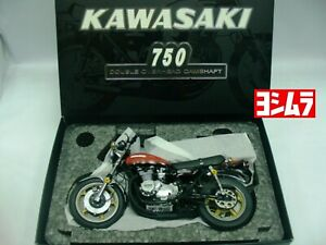 WOW EXTREMELY RARE Kawasaki 750 ZII A Yoshimura 1973 Red 1:12 Wit's-Minichamps