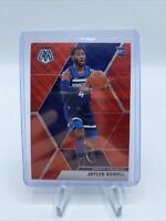 Jaylen Nowell Red Wave Prizm RC 2019-20 Mosaic #212  SP Rookie