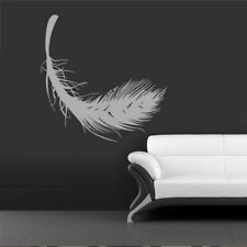 Wall Vinyl Sticker Bedroom Decal Feather (Z1087)