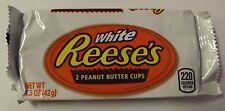 White Reeses Peanut Butter Cups Chocolate Candy Bar 24 Count Box