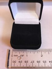 Velour Jewelry Ring Box Lot of 10 (Wholesale pricing available)