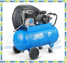Compressore a cinghia 100 lt ABAC A29B 100 CT2 professionale aria compressa 2 HP