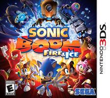 Sonic Boom: Fire & Ice 3DS New Nintendo 3DS, Nintendo 3DS