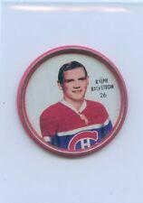62-63 SHIRRIFF HOCKEY COIN #26 RALPH BACKSTROM CANADIENS