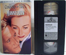 Mannequin 1938 VHS Joan Crawford Spencer Tracy Alan Curtis Ralph Morgan MGM