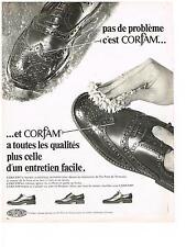 PUBLICITE  1968  DU PONT DE NEMOURS cirage  CORFAM
