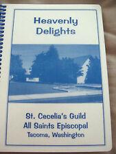 NEW St. Cecelia Episcopal Church Cookbook Tacoma WA