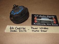 OEM 66 Cadillac Deville POWER WINDOW LIFT MOTOR REGULATOR GEAR