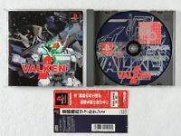 Assault Suits Valken 2 PS1 Masaya Sony Playstation Spine From Japan