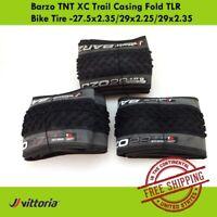 """Vittoria Barzo TNT XC Trail Casing Fold TLR Tire-27.5x2.35""""/29x2.25""""/29x2.35"""""""