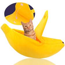 Pet Bed Banana Washable Warm House Dog Cat Sleep Bed Igloo Nest Kennel Orange