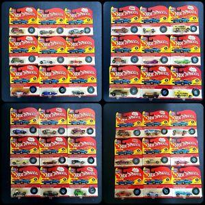 Lot of 36 Hot Wheels 90s California Custom Miniature Replica Series 1 2 Vintage