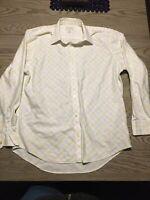 MENS Banana Republic SOFT WASH/SLIM FIT Button Down Shirt Size Large
