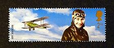 Amy Johnson y Bi-plane Ilustrado en 2003 Sello-Menta desmontado