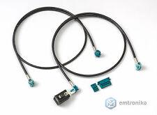 BMW CIC retrofit upgrade kit for E70 E60 E90 monitor video USB cables sockets