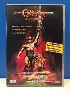 CONAN - DER BARBAR (Erstauflage) Arnold Schwarzenegger - WIE NEU