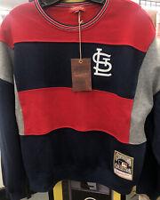 St. Louis Cardinals Mitchell & Ness Women's Long Sleeve Sweatshirt Size Small