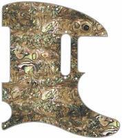 Telecaster Pickguard Custom Fender Tele 8 Hole Guitar Pick Guard Shell Mex Green