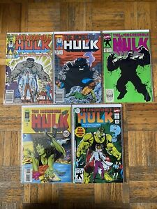 Hulk Comics Lot 324 441 And More 5 Issues