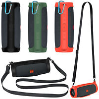 Für JBL Charge Essential Bluetooth Lautsprecher Silikon Hülle Schutz Case Strap