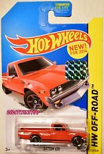 HOT WHEELS 2014 HW OFF-ROAD DATSUN 620 RED FACTORY SEALED W+