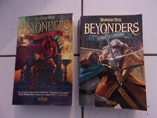 lot Brandon Mull BEYONDERS 1 et 2 vers l'autre monde / le vent de la révolte