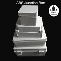 Waterproof ABS Electronic Project Box Enclosure Plastic Case Screw Junction Box