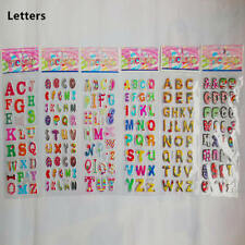 6PC Letters Alphabet Cartoon Scrapbooking Stickers Children Birthday Gift Reward