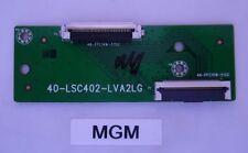 ~TCL  40FS3800 T-Con Board 40-LSC402-LVA2LG~