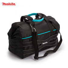 "Genuine Makita Electricians Craftsmen Large 20"" Hand Multi Tool Bag Case w Strap"