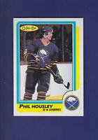 Phil Housley HOF 1986-87 O-PEE-CHEE OPC Hockey #154 (NM+) Buffalo Sabres