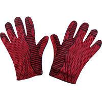 Fun World Long Velvet Burgundy Red Adult Gloves Costume Accessory