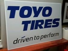 """TOYO Tires Sign  16"""" x 24"""""""
