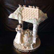 Disney Lenox Snow White SOMEDAY MY PRINCE WILL COME Porcelain Figurine-RARE