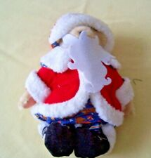 Muffy Vanderbear Santa Claus North Pole Collection Vintage !994 with Tag