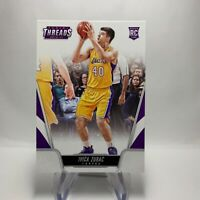 2016-17 NBA Threads Rookie Card 175 Ivica Zubac Los Angeles Lakers