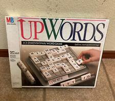 Milton Bradley Upwords  Word Game 1988 NEW Factory Sealed RARA VHTF