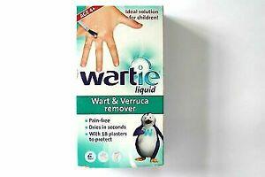 WARTIE Liquid Verruca Wart Remover for Fast Acting Pain Treatment 5ml