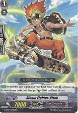 CARDFIGHT VANGUARD CARD: STEAM FIGHTER, ATTAB - G-BT07/099EN C