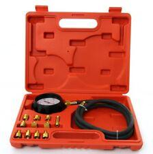 Set kit Tester misuratore pressione olio motore auto 12pz manometro adattatori