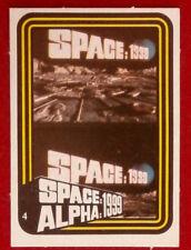 SPACE / ALPHA 1999 - MONTY GUM - Card #4 - Netherlands 1978