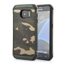 Army Camouflage Heavy Duty Military Camo Rugged Rubber Shockproof Case For Phone