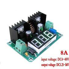 DC-DC 8A Step Down Power Supply Module Digital Display Buck Converter adjustable