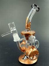 Glass Water Pipe with Coffee Plating High Quality Glass Bong