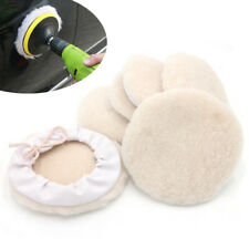 6Packs 7inch Auto Car Wool Bonnet Buffing Wheel Pad Buffer Polishing Polisher