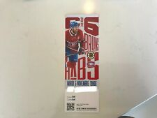 Unused Montreal Canadians tickets featuring Shea Weber nov 5