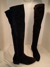 b38b4c9519d NEW WOMEN S VAGABOND GIGI LOW HEEL OVER THE KNEE BLACK SUEDE BOOTS US 9 EUR  39