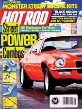 HOT ROD 1987 AUG - V8 SKYHAWK, COBRA TORINO